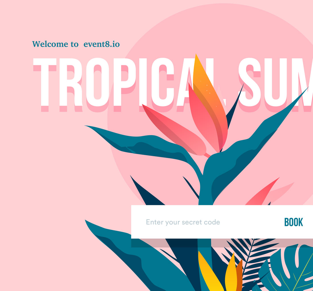 Tropic Summer Digital Branding
